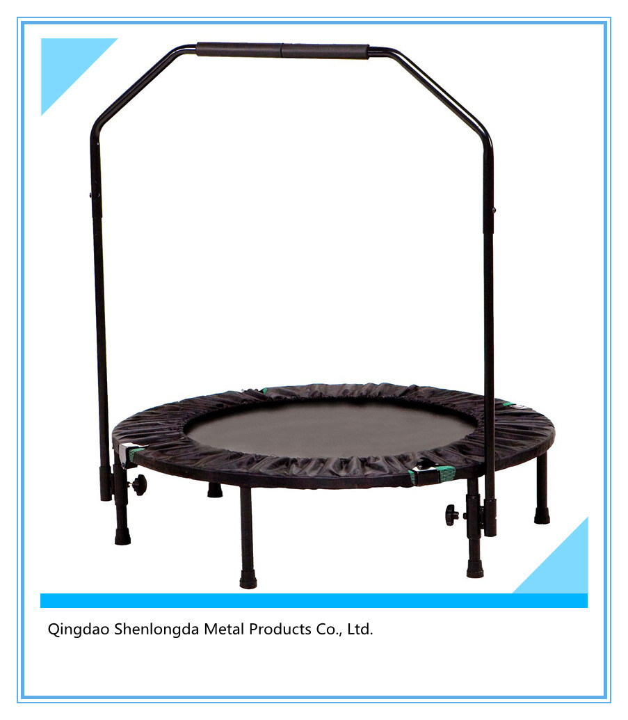 45-Inch Trampoline with Adjustable Stability Bar