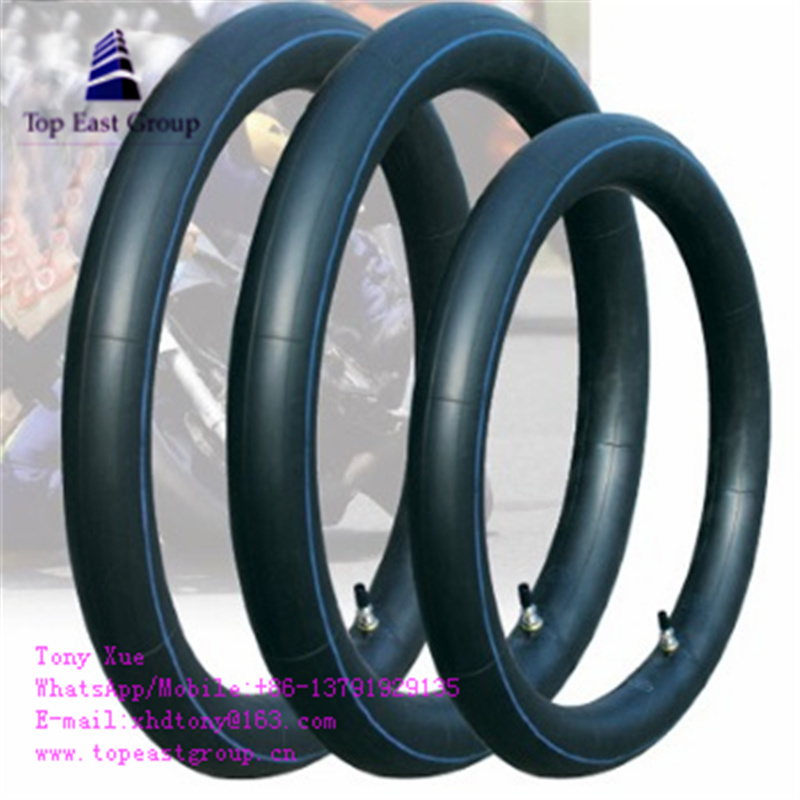 350-10 Natural, Good Quality Motorcycle Inner Tube
