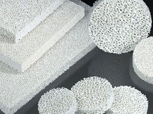 Zirconia Foam Ceramic Filter for Molten Metal Filtration
