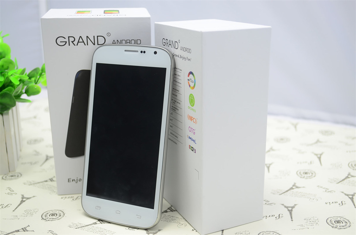 5.0 Inch Quad Core Android Smart Phone with Qhd IPS LCD (A999Q)