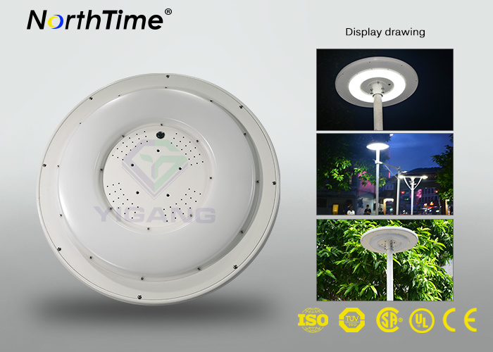 Phone APP Control Round Solar Charge LED Garden Light