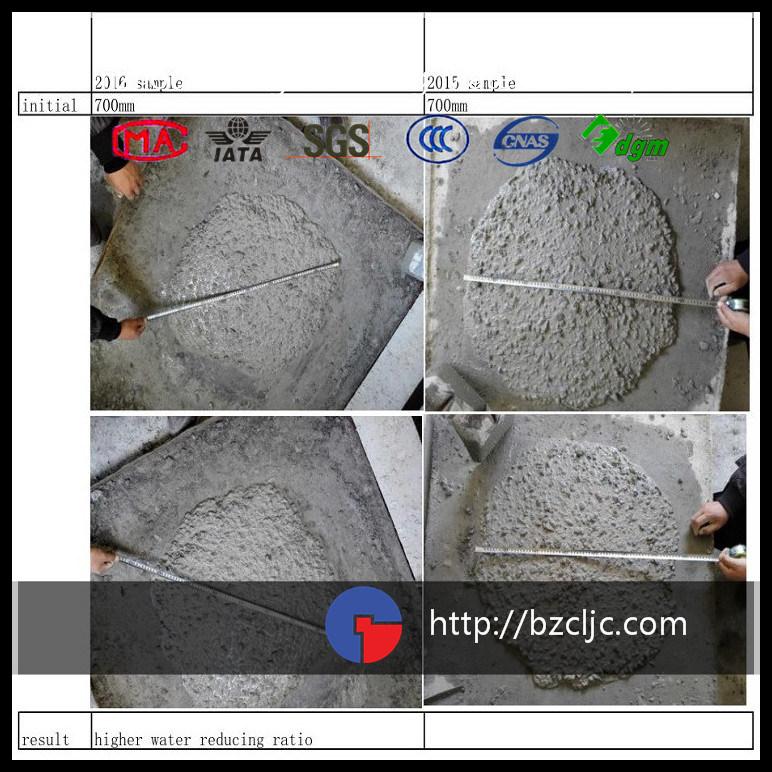 High Performance Concrete Superplasticizer Based on Polycarboxylate (sr-50)