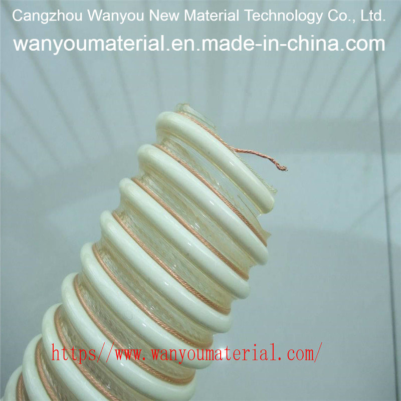 Plastic Flexible Pipe Steel Wire Reinforced PVC Water Hose