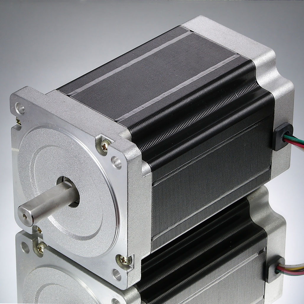 2 Phase 86mm Stepper Electrical Motor