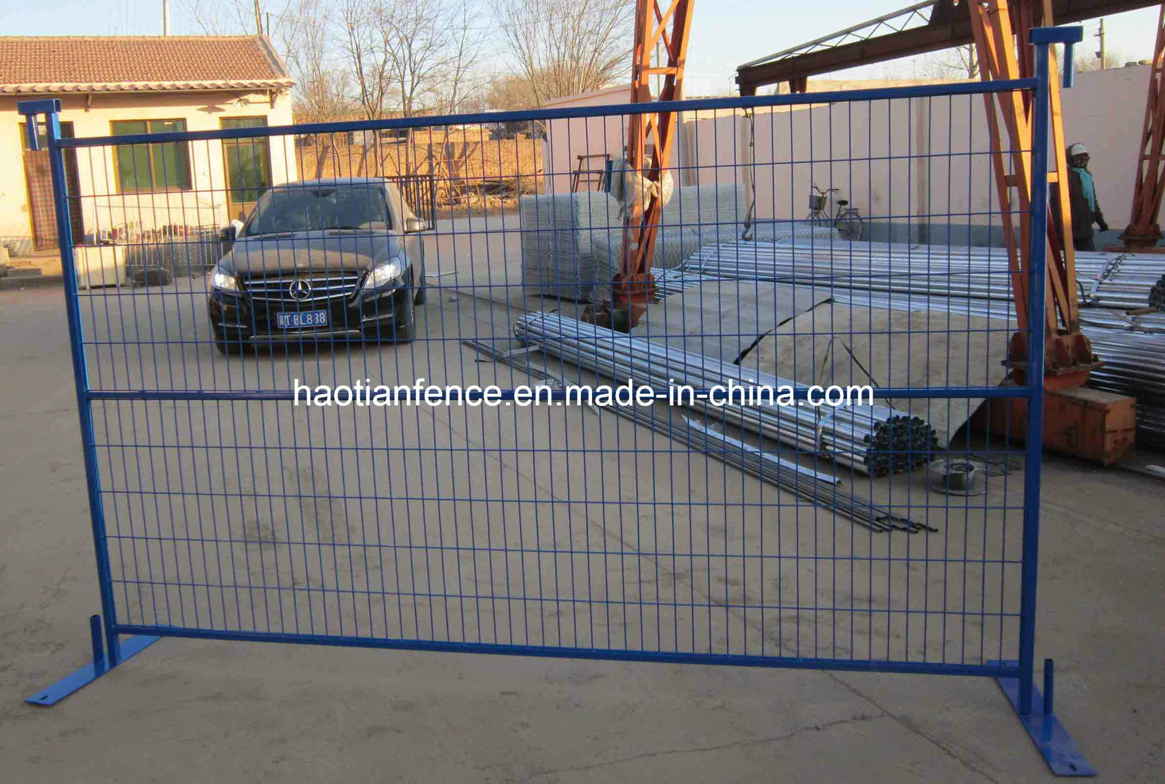 6′ X9.5′ Ral2011 Canada Temporary Fence