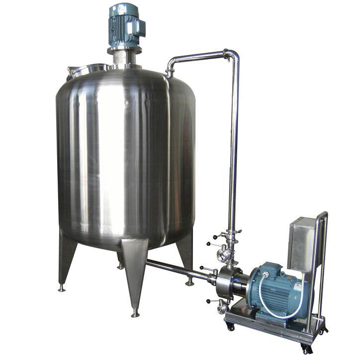 Vacuum Emulsifying Mixer Machine for Mixing Cosmetic Pharmaceutical Cream