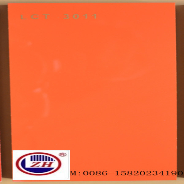 Orange Scratch Resistant Lct Glossy MDF Board (LCT-3011)