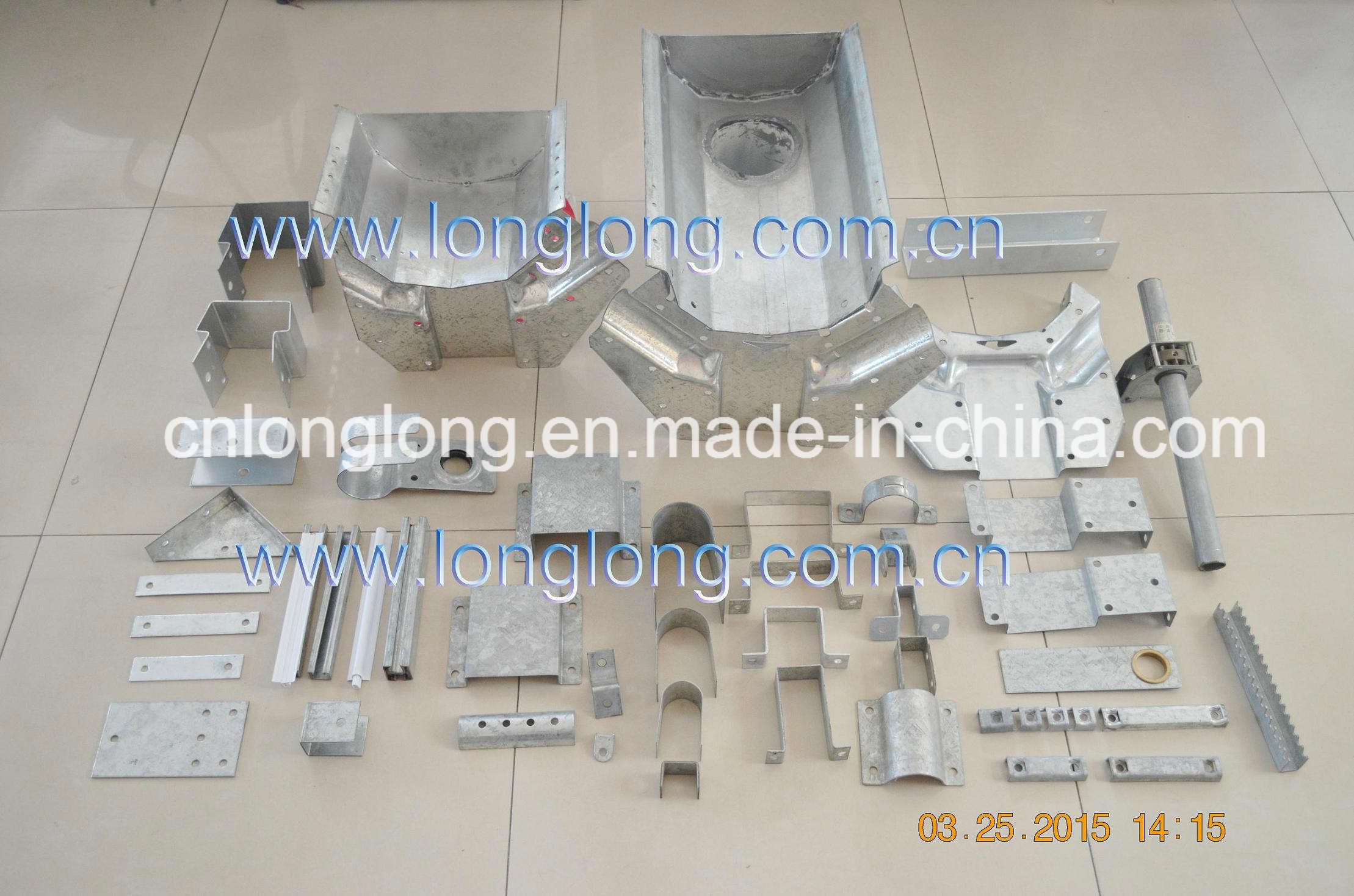 Professional and High Quality Greenhouse Steel Structure Parts