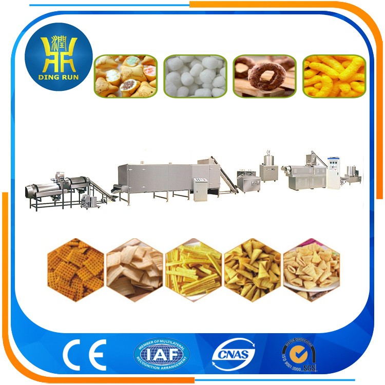 500kg/h Breakfast cereal corn flakes macking machine for South America