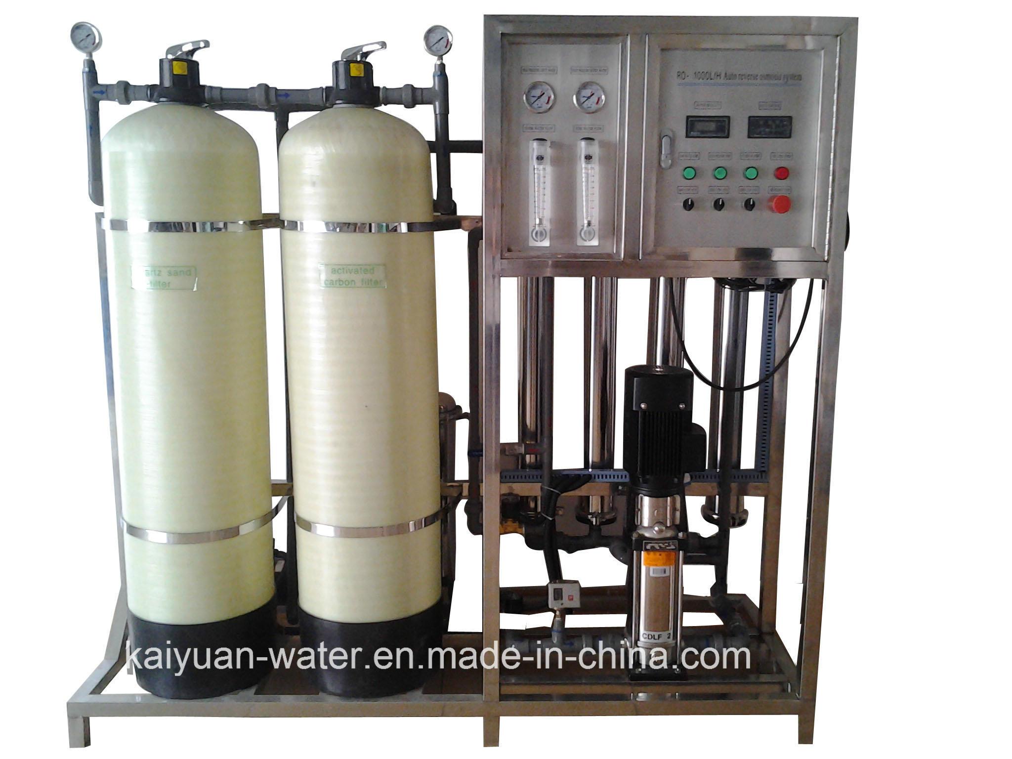 China 1000lph Water Purification Device Water Desalination Machine