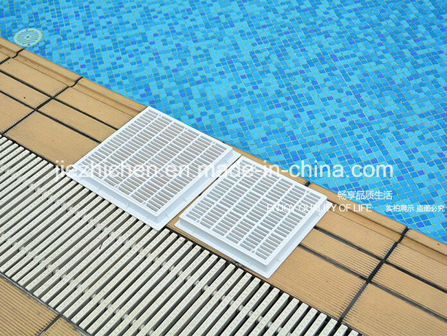 China Abs Pvc Main Drain Cover Gutter Drain For Swimming