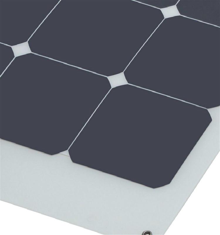2017 High Efficiency 100W Flexible Solar Panel for RV Marine Home