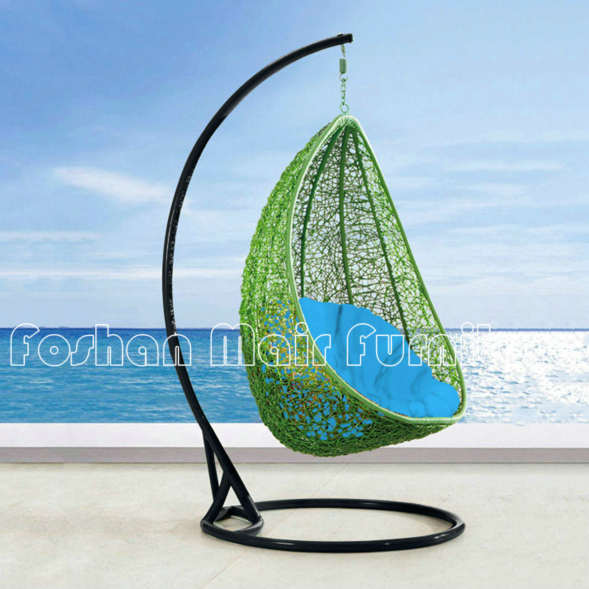 China Popular and Nice Outdoor Hanging Egg Chair Garden