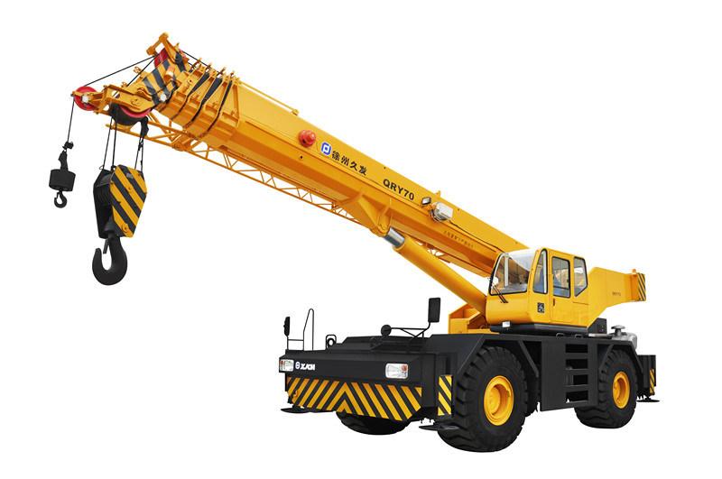 Rough Terrain Crane Application : China rough terrain crane for t qry