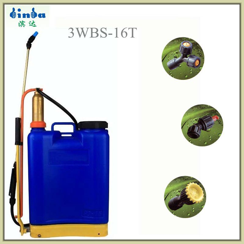 16L Manual Knapsack Agricultural Sprayer with Brass Air Chamber