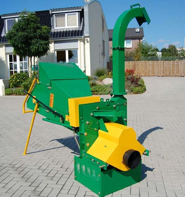 Wood Chipper Model Wc-8 with Europe Certificate (shredder, wood cutter)
