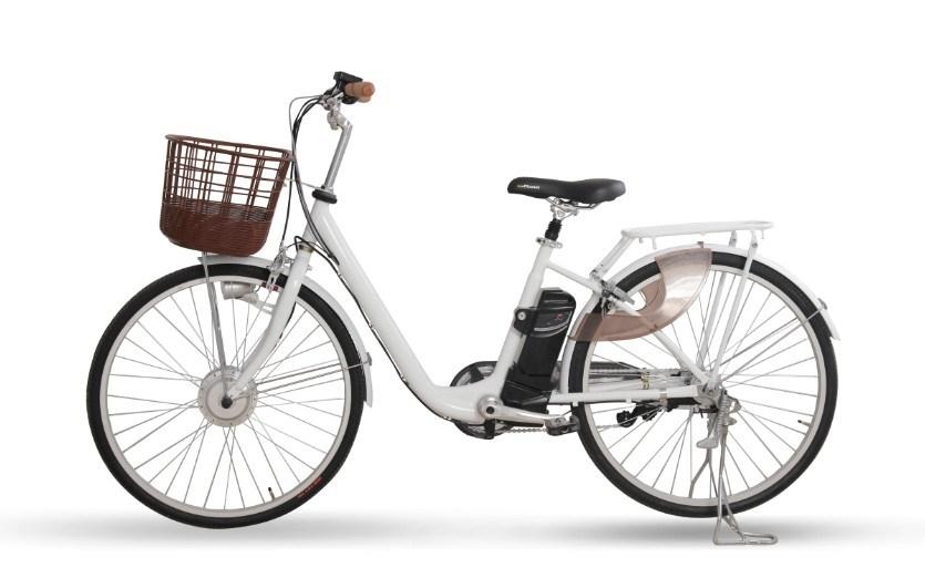 with Basket Torque Sensor City E Bike (PB107)