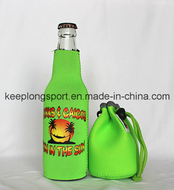 Silk Screen Printing Customized Neoprene Can Cooler, Can Holder, Beer Cooler