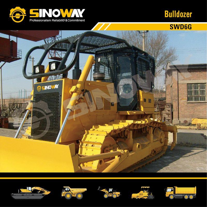 Crawler Bulldozer with 160HP Engine