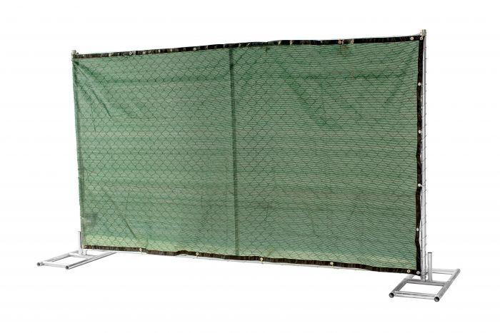 Chain Mesh Portable Fence Panels Used Mesh 57mm X 57mm X 2.7mm Diameter