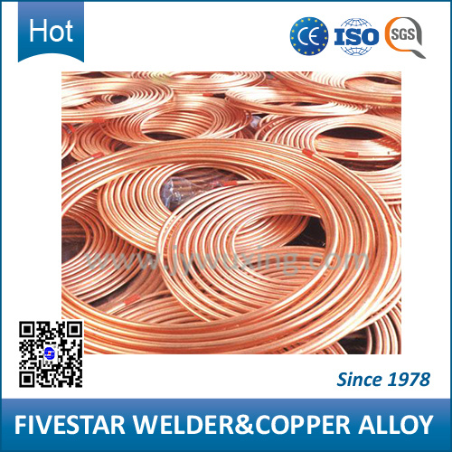 Crzrcu High Conductivity Alloys Welding Wire with High Conductivity