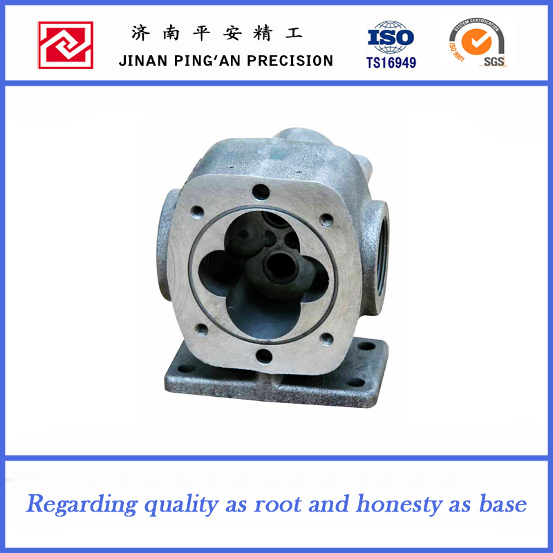 Kinds of Pump Parts Machining