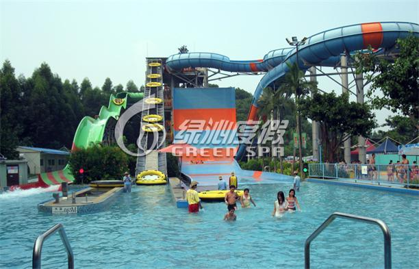 Giant Boomerang Water Slide for Water Park