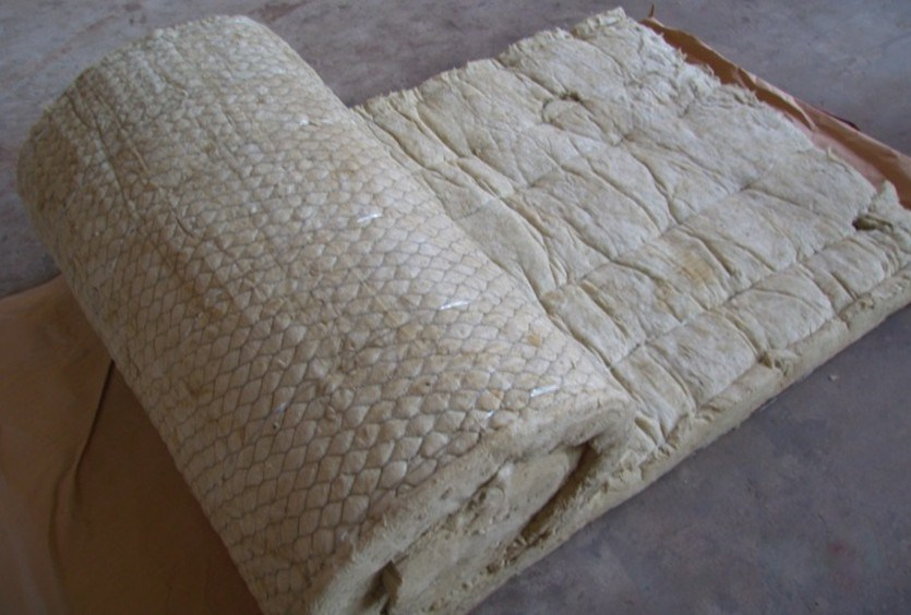 China Rockwool Blanket With Wire Mesh Rock Wool Blanket