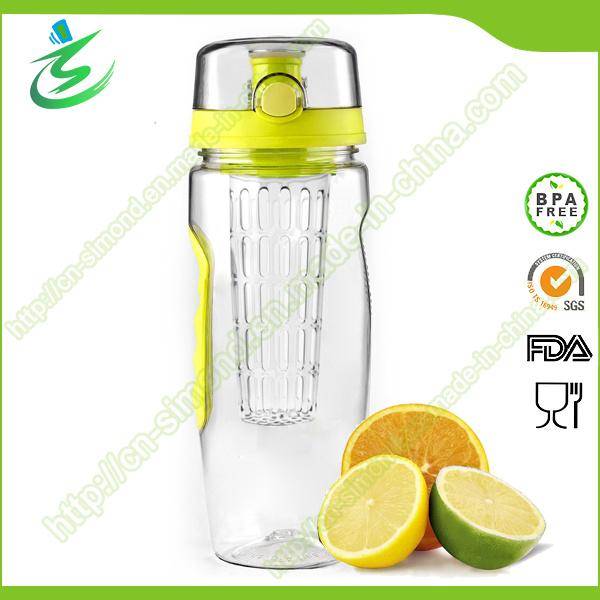 32oz BPA Free New-Arrival Tritan Fruit Infuser Water Bottle