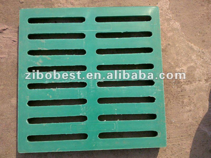 En124 Composite 400X600mm FRP/GRP Trench Cover Made in China