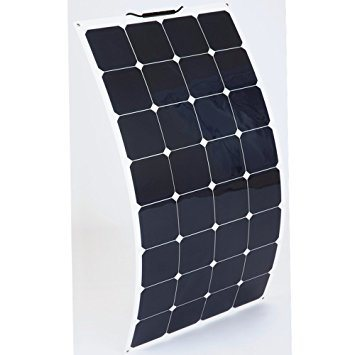 Professional China Factory Silicon Wafer Price 100W Flexible Solar Panel