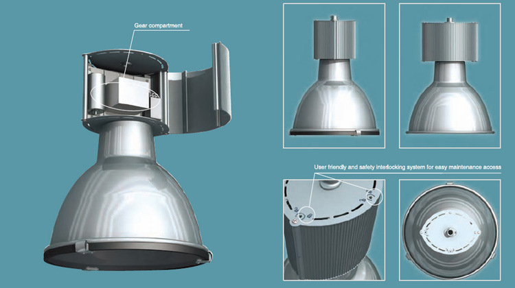 150W/250W/400W HID High Bay Light for Industrial/Factory/Warehouse Lighting (SLH400)