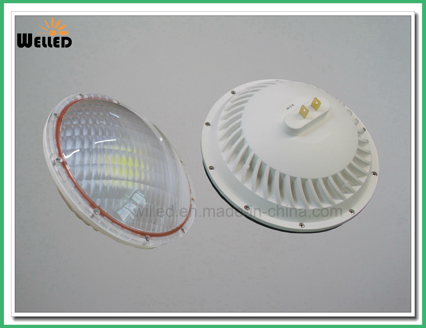 RGB Remote Control LED Swimming Pool Light 36W Surface Mounted LED PAR56 Lamp 12V G53 Gx16D