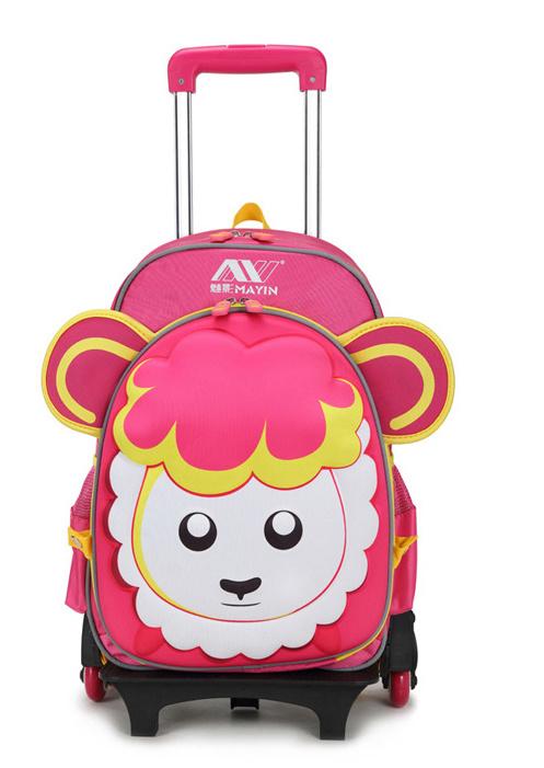 School Bag of Cartoon Design
