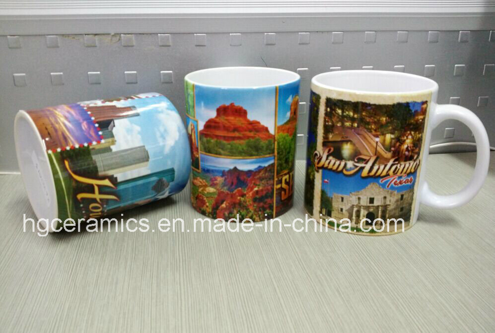 11oz Sublimation White Mug, 11oz Phono Mug