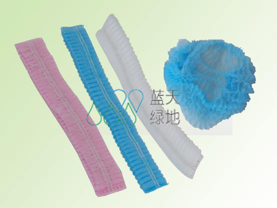 Disposable Nonwoven Bouffant Cap (LTLD207)