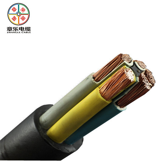 Double Insulation 5core Flexible Rubber Cable for Outdoor Use