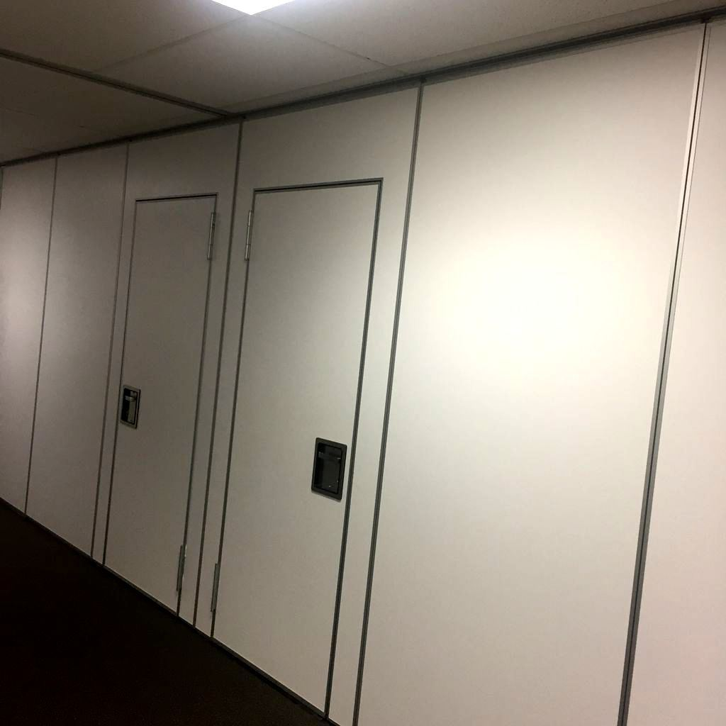 Acoustic Folding Wall for Conference Hall