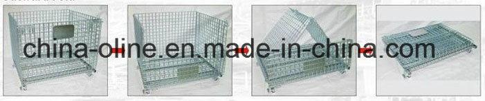 Bulk Steel Storage Warehouse Cage