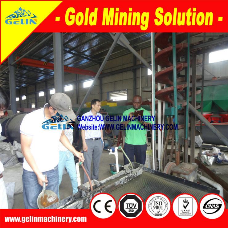 Beneficiation Tantalum Niobium Mine Machine for Africa Nigeria Tantalum Niobium Ore Concentration