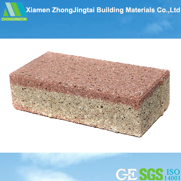 Exterior Ceramic Floor Tile Water Permeable Paving Brick