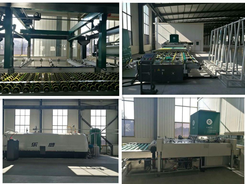 2134*3300 Fresh Material PVB Laminated Glass Factory