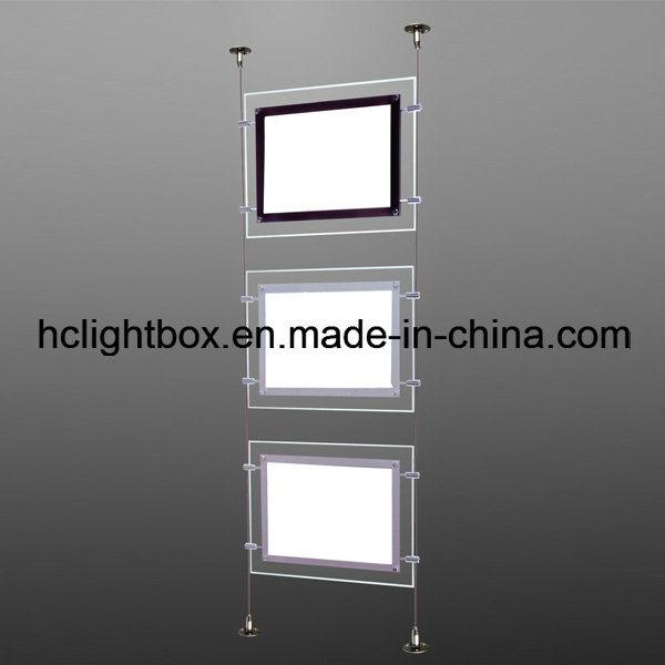 Acrylic Box To Hang On Wall : China hanging acrylic crystal display light box photos