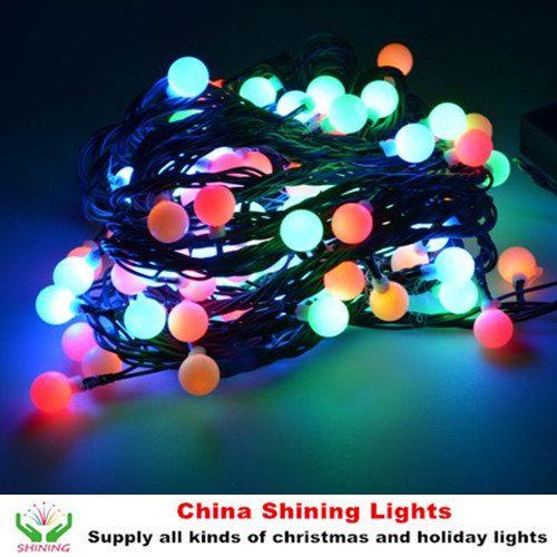 Popular Christmas Holiday Decoration LED Cherry Ball Lights 30m 300LED Good Quality Competitive Price