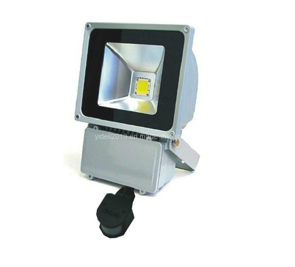 70W PIR Motion Sensor LED Floodlight Projector Lamp Outdoor