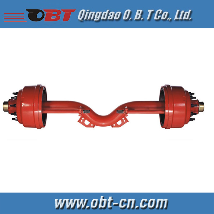 With Drop Axle Semi : China drop center axle for truck trailer