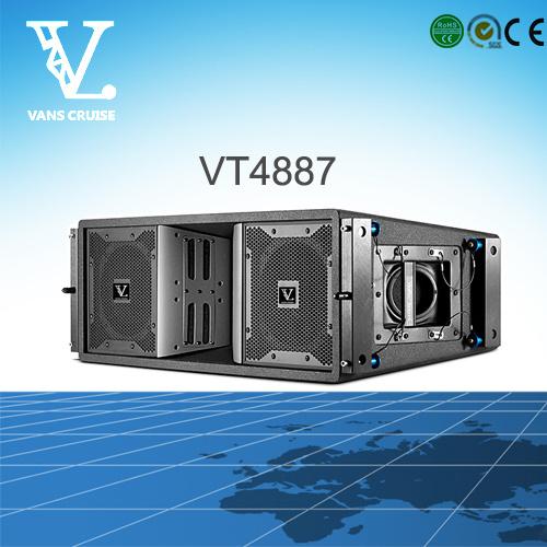Vt4887 3-Way Big Size Outdoor Line Array Sound Speaker