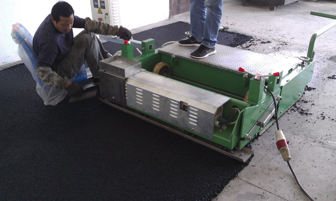 Small Paver Machine for SBR Rubber Elastic Layer (TPJ-1.2M)