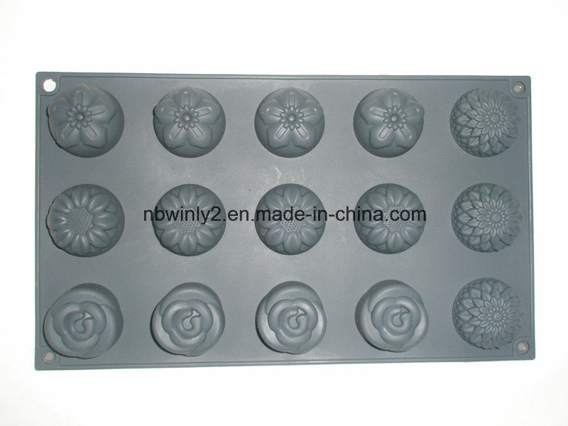 15 Holes Silicone Cake Mold