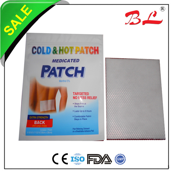 Effectiveness of the lidocaine patch 5 on pain